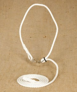 12mm Silver Rope Neck Strap for Cattle