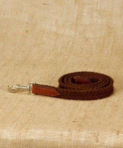 Brown Flat Cotton Rope Nose Lead